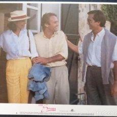Cine: UNTIL SEPTEMBER LOBBY CARD ORIG,YEAR 1984,Nº 6 OF 8,KAREN ALLEN. Lote 288033278