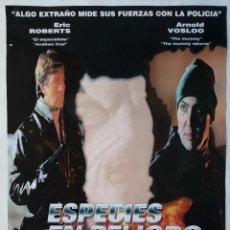 Cine: ESPECIES EN PELIGRO, CON ERIC ROBERTS. PÓSTER 68 X 98 CMS. Lote 288080343