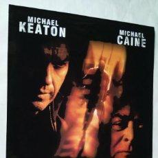 Cine: QUICKSAND, JUEGO SUCIO CON MICHAEL CAINE. PÓSTER 68,5 X 98,5 CMS 2003.. Lote 288097288