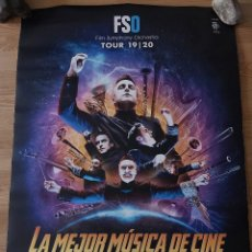 Cine: LA MEJOR MÚSICA DE CINE - APROX 70X100 CARTEL ORIGINAL CINE (L90). Lote 288115328