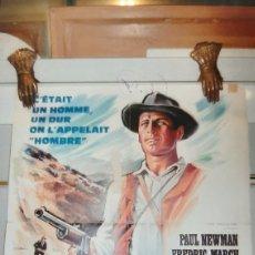 Cine: HOMBRE 1967 PAUL NEWMAN FREDERIC MARCN RICHARD BOONE CARTEL PÓSTER AFICHE. Lote 288133438
