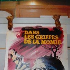 Cine: DANS LES GRIFFES DE LA MOMIE ANDEE MIRELL JOHN PHILIPS DAVID BUCK CARTEL PÓSTER. Lote 288134068