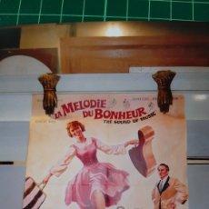 Cine: LA MELODUE DU BINNEUR ADREWS PLUMMER MUSICAL CARTEL PÓSTER AFICHE 657. Lote 288134453