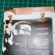 Cine: LE SILENCIUX LINO VENTURA CÁRTEL PÓSTER AFICHE ORIGINAL 77X59 633. Lote 288139643