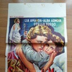 Cine: CARTEL ORIGINAL BELGA SUPPLICE DE MERE, LIA AMANDA, ALBA ARNOVA,. Lote 288168413