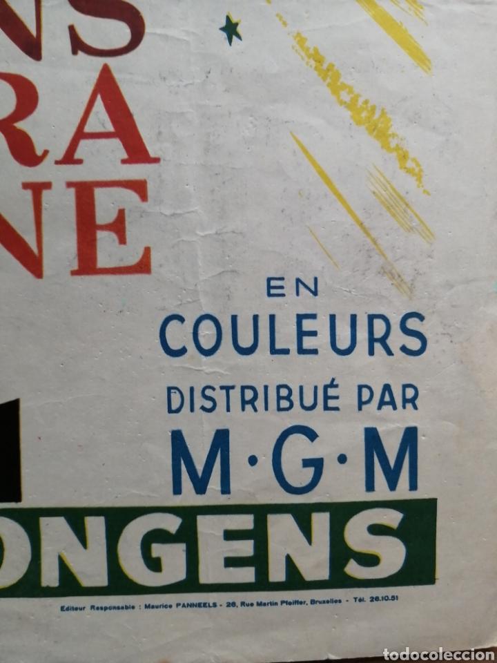 Cine: Cartel original belga guys and dolls, marlon brando - Foto 3 - 288169483