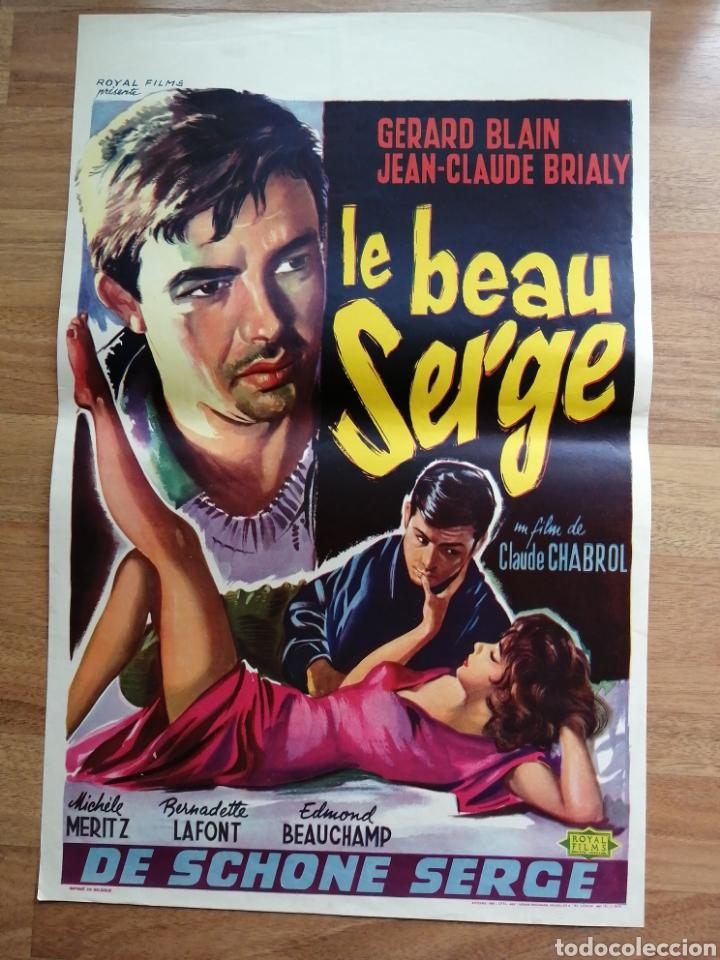 CARTEL ORIGINAL BELGA LE BEAU SERGE, (Cine- Posters y Carteles - Drama)