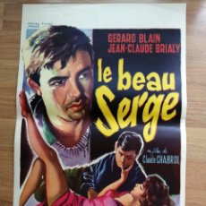 Cine: CARTEL ORIGINAL BELGA LE BEAU SERGE,. Lote 288170163