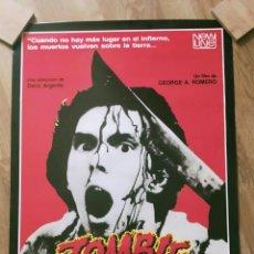 Cine: POSTER ZOMBIE ( ÚLTIMO DE LOS 3 QUE TENÍA ). Lote 288226988