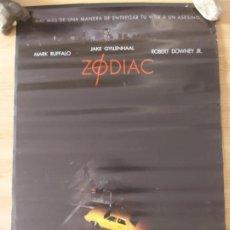 Cine: ZODIAC - APROX 70X100 CARTEL ORIGINAL CINE (L90). Lote 288297953