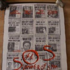 Cine: SUMMER OF SAM (NADIE ESTÁ A SALVO DE SAM) - APROX 70X100 CARTEL ORIGINAL CINE (L90). Lote 288298023