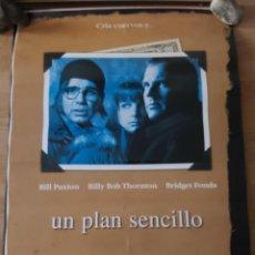 Cine: UN PLAN SENCILLO - APROX 70X100 CARTEL ORIGINAL CINE (L90). Lote 288298058