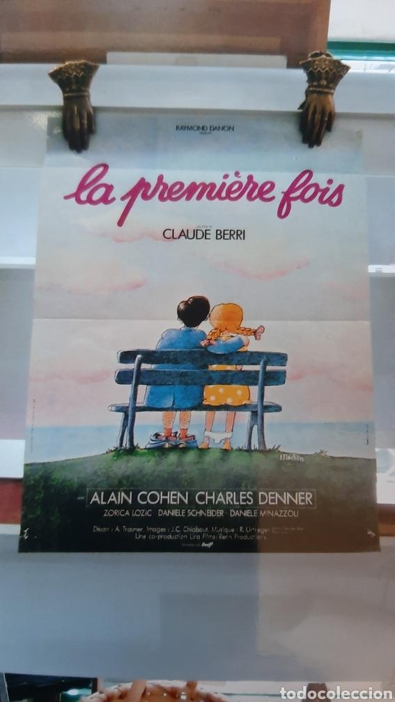 CLAYDE BERRI LA PREMIERE FAIS AKAIN CIHEN CHARLES DENNER 757 CARTEL PÓSTER AFICHE (Cine - Posters y Carteles - Comedia)