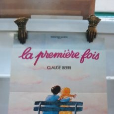 Cine: CLAYDE BERRI LA PREMIERE FAIS AKAIN CIHEN CHARLES DENNER 757 CARTEL PÓSTER AFICHE. Lote 288442053