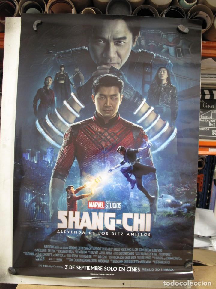 SHANG-CHI Y LA LEYENDA DE LOS DIEZ ANILLOS (Cine - Posters y Carteles - Aventura)