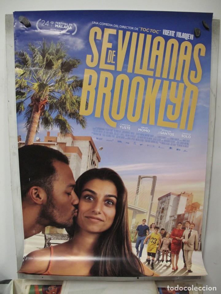 SEVILLANAS DE BROOKLIN (Cine - Posters y Carteles - Aventura)