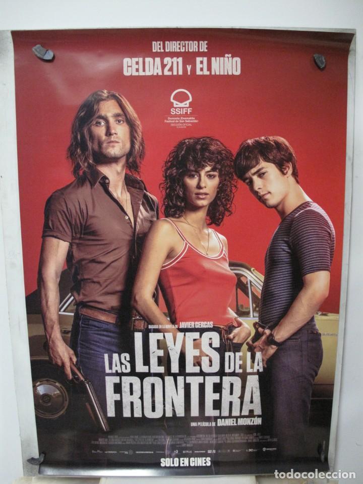 LAS LEYES DE LA FRONTERA (Cine - Posters y Carteles - Aventura)