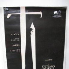 Cine: EL ULTIMO DUELO. Lote 288479618