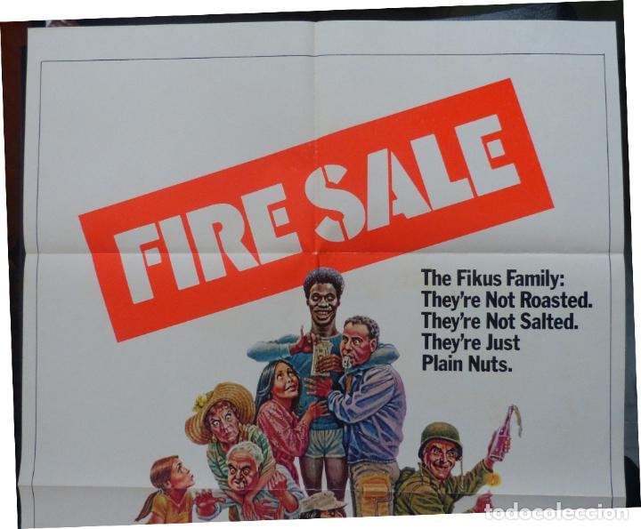 Cine: FIRESALE Movie Poster, Original,1977,Folded,1 Sheet, Alan Arkin - Foto 2 - 288484813