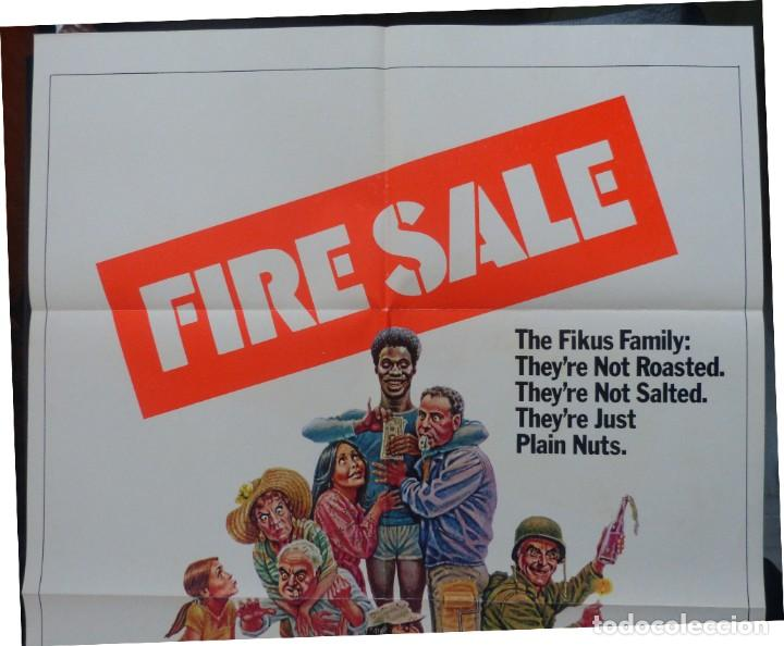 Cine: FIRESALE Movie Poster, Original,1977,Folded,1 Sheet, Alan Arkin - Foto 6 - 288484813