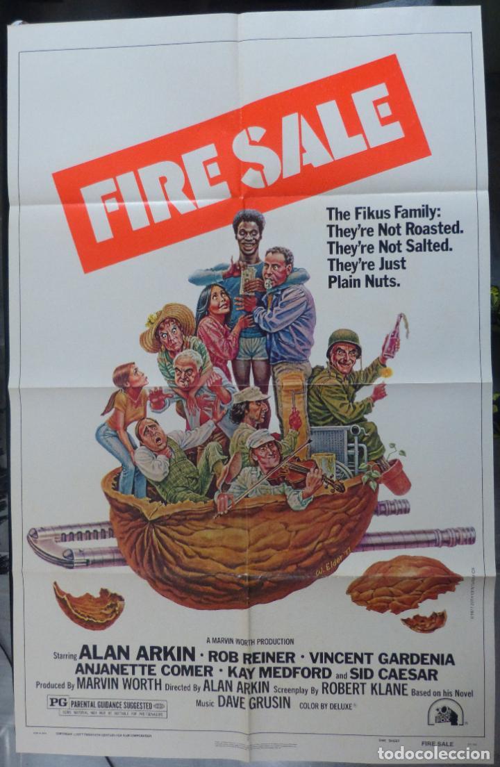 FIRESALE MOVIE POSTER, ORIGINAL,1977,FOLDED,1 SHEET, ALAN ARKIN (Cine- Posters y Carteles - Drama)