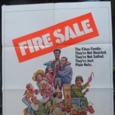 Cine: FIRESALE MOVIE POSTER, ORIGINAL,1977,FOLDED,1 SHEET, ALAN ARKIN. Lote 288484813