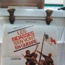 Cine: 1974 LES BISES S'EN VONT EN GUERRA PAOLO STOPPA CLAUDE ZIDI 770. Lote 288500583