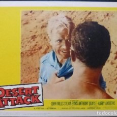Cine: DESERT ATTACK LOBBY CARD,YEAR 1960, JOHN MILLS,SYLVIA SYMS,60/335. Lote 288503598