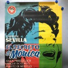 Cine: EL SECRETO DE MONICA - CARMEN SEVILLA, ADOLFO MARSILLACH, ENRIQUE DIOSDADO - AÑO 1961. Lote 288540833
