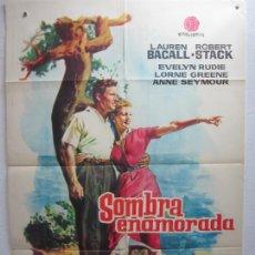Cine: SOMBRA ENAMORADA - POSTER CARTEL ORIGINAL - LAUREN BACALL ROBERT STACK JEAN NEGULESCO - L. Lote 288558798