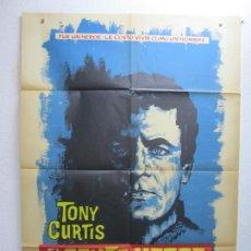 Cine: EL SEXTO HEROE - POSTER CARTEL ORIGINAL - TONY CURTIS DELBERT MANN 2ª GUERRA MUNDIAL - L. Lote 288559163
