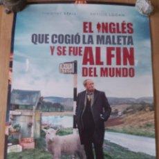 Cine: EL INGLÉS QUE COGIÓ LA MALETA Y SE FUE AL FIN DEL MUNDO - APROX 70X100 CARTEL ORIGINAL CINE (L91). Lote 288573823