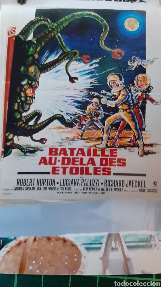 BATAILLE AU DELA DES ETOILES CARTEL PÓSTER AFICHE ROBERT HORTON 800 RICHARD JACKEL LUCIANA PALUZZI (Cine - Posters y Carteles - Ciencia Ficción)