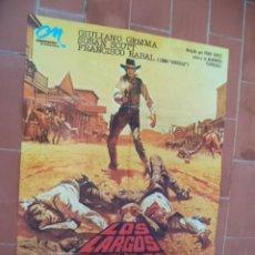 Cinéma: CARTEL DE CINE 70X 100 APROX MOVIE POSTER VER FOTO LOS LARGOS DIAS DE LA VENGANZA GIULIANO GEMMA. Lote 288603983