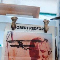 Cine: AVIACIÓN LA KERMESSE DES AIGLES ROBERT REDFORD BO SVENSON CARTEL 807 AFICHE CARTEL. Lote 288604433