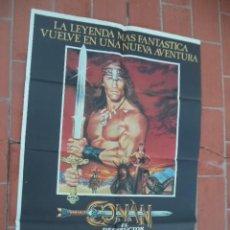Cinéma: CARTEL DE CINE 70X 100 APROX MOVIE POSTER VER FOTO CONAN EL DESTRUTOR ARNOLD SCHWARZENEGGER. Lote 288608343