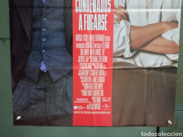 Cine: CDO M480 CONDENADOS A FUGARSE EDDIE MURPHY MARTIN LAWRENCE POSTER ORIGNAL ESTRENO 70X100 - Foto 3 - 288613658