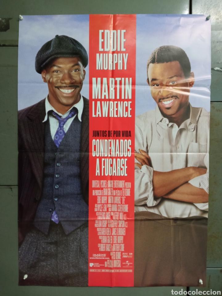 CDO M480 CONDENADOS A FUGARSE EDDIE MURPHY MARTIN LAWRENCE POSTER ORIGNAL ESTRENO 70X100 (Cine - Posters y Carteles - Comedia)