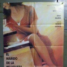 Cine: CDO M483 EL MARIDO DE LA PELUQUERA PATRICE LECONTE POSTER ORIGINAL 70X100 ESTRENO. Lote 288614048