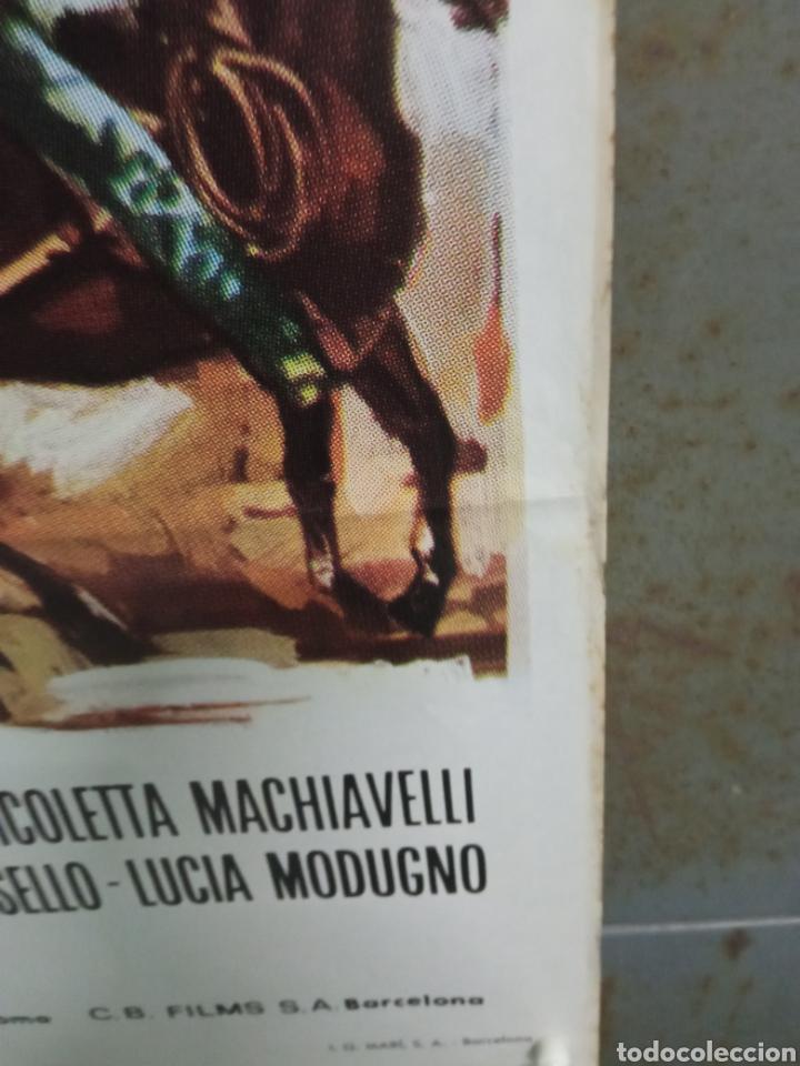 Cine: CDO M504 JOE EL IMPLACABLE BURT REYNOLDS FERNANDO REY SPAGHETTI POSTER ORIGINAL 70X100 ESTRENO - Foto 4 - 288617878