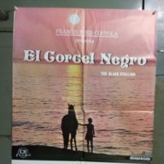 Cine: CDO M509 EL CORCEL NEGRO MICKEY ROONEY POSTER ORIGINAL 70X100 ESTRENO. Lote 288621223