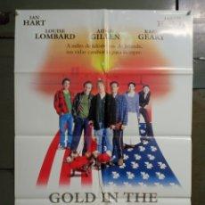 Cine: CDO M513 GOLD IN THE STREETS ORO EN LAS CALLES IAN HART JARED HARRIS POSTER ORIGINAL ESTRENO 70X100. Lote 288621653