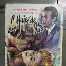 Cine: CDO M522 LA MUJER DE OTRO ANALIA GADE MARTHA HYER RAFAEL GIL POSTER ORIGINAL 70X100 ESTRENO. Lote 288622878