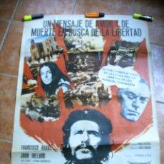 Cine: CARTEL DE CINE EL CHE GUEVARA FRANCISCO RABAL ORIGINAL. Lote 288627678