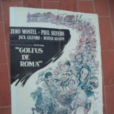Cine: CARTEL DE CINE 70X 100 APROX MOVIE POSTER VER FOTO GOLFUS DE ROMA RICHARD LESTER ZERO MOSTEL. Lote 288640618