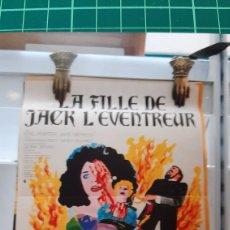 Cine: LA FILLE DE JACK L'EVENTREUR HANDS OF THE ROPPER CARTEL PÓSTER AFICHE 824. Lote 288861513