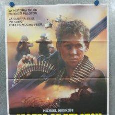 Cine: CABEZA DE PELOTÓN. MICHAEL DUDIKOFF, ROBERT F. LYONS, MICHAEL DELORENZO POSTER ORIGINAL. Lote 289000858