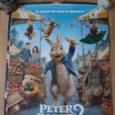 Cine: PETER RABBIT 2 - APROX 70X100 CARTEL ORIGINAL CINE (L91). Lote 289016403