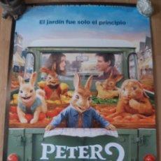 Cine: PETER RABBIT 2 V2 - APROX 70X100 CARTEL ORIGINAL CINE (L91). Lote 289016633