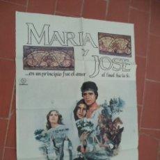 Cine: MOVIE POSTER CARTEL DE CINE ORIGINAL DE EPOCA 70X100 APROX VER FOTO MARIA Y JOSE ERIC TILL. Lote 289198098